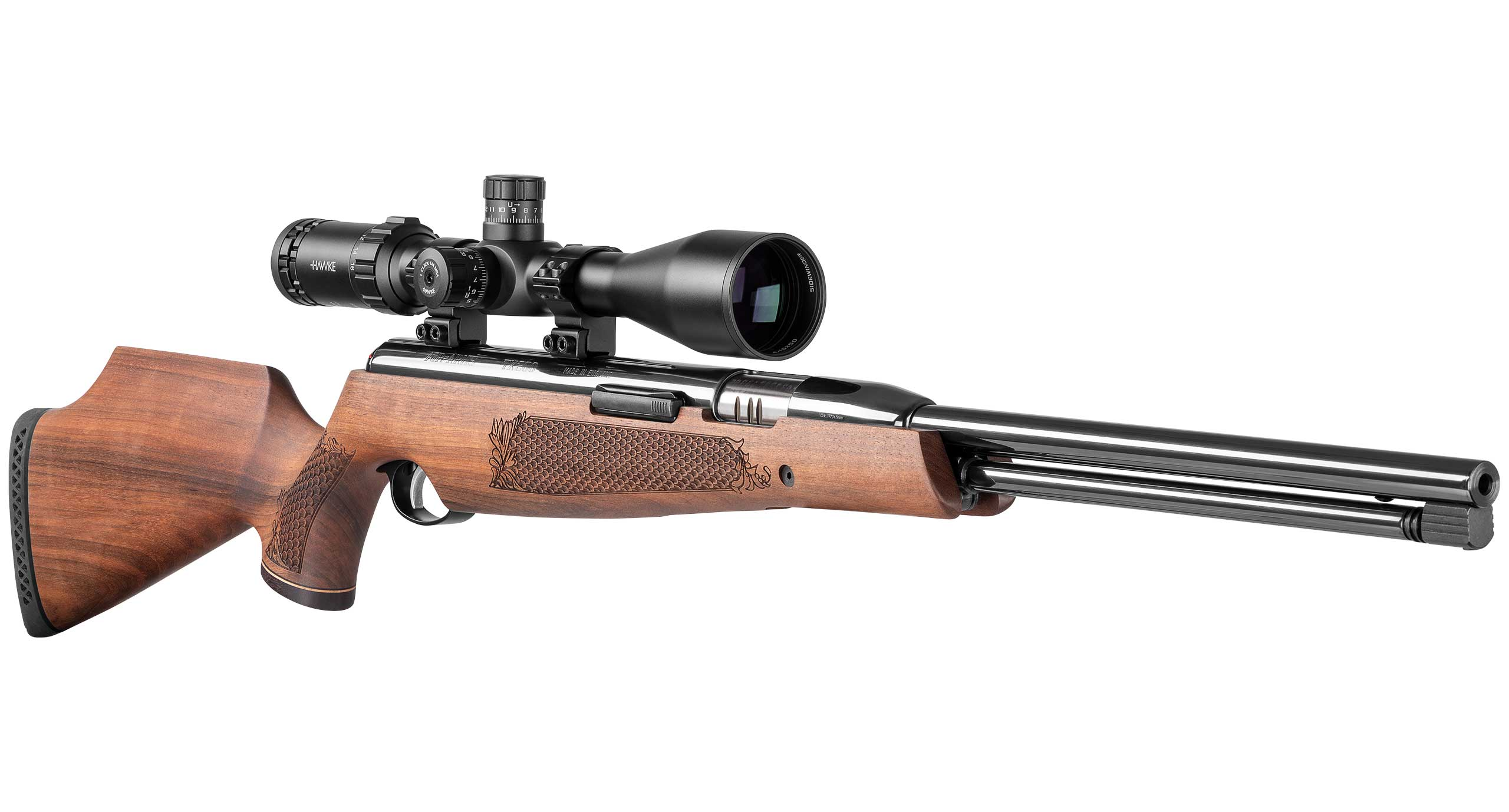TX200 Spring Rifle Angled