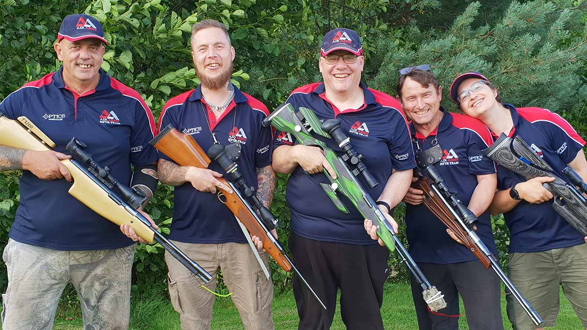 The Air Arms Springer Team 2019