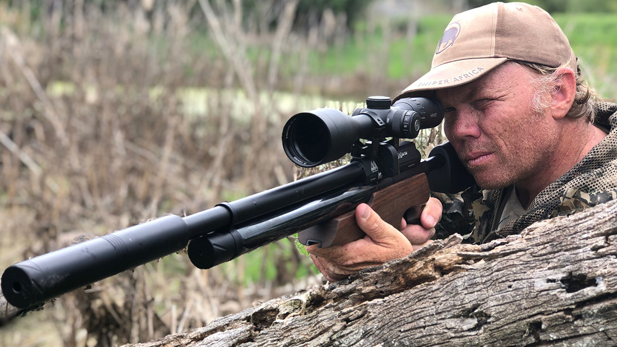 Airgun Hunting in South Africa with Richard Leonard - Unseen Footage