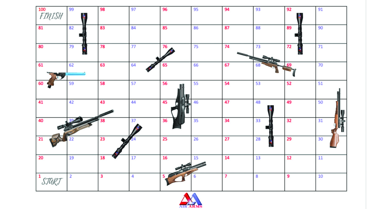 Air Arms Shoots and Scope (Snakes & Ladders)