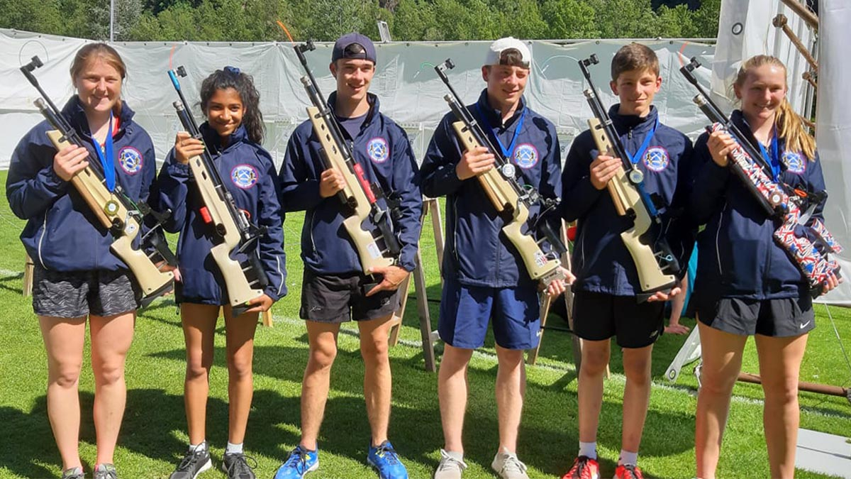 Great result for team GB in the World Tour Target Sprint – Italian International Open 2019