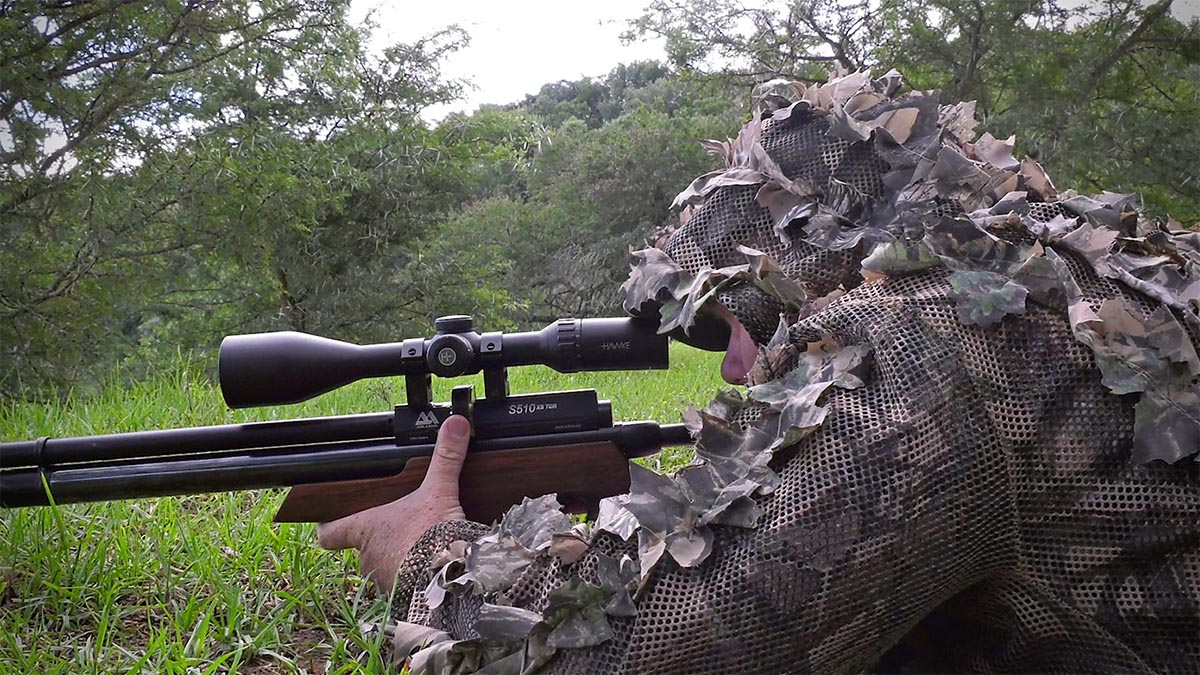 Airgun Shooting with the Air Arms S510 TDR