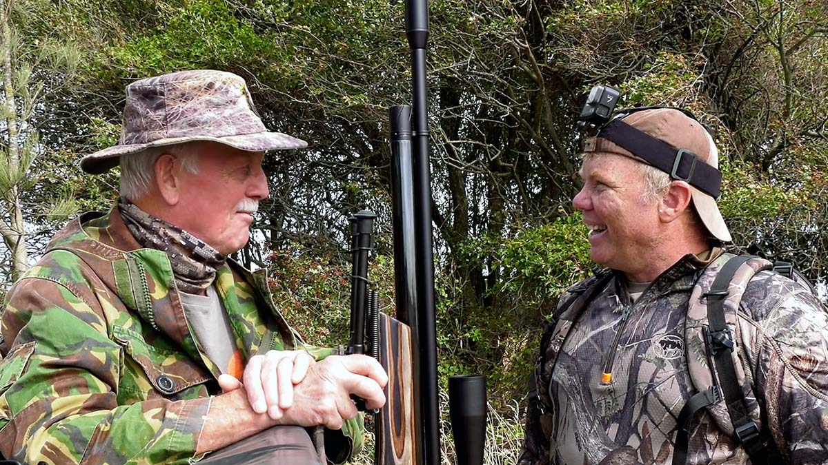 Hunting Rabbits in New Zealand with Richard Leonard