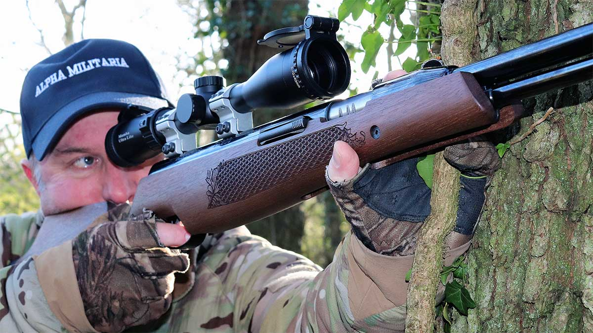 Grey Squirrel Hunting with the Air Arms Pro Sport and TX200