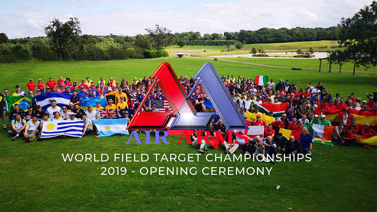 World Field Target Championships 2019 - Opening Ceremony