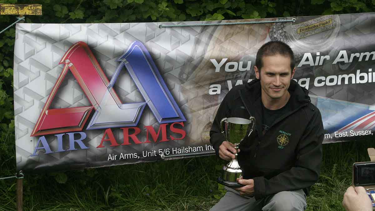 Clean Sweep by Team Air Arms in the UKAHFT National Recoil Championship