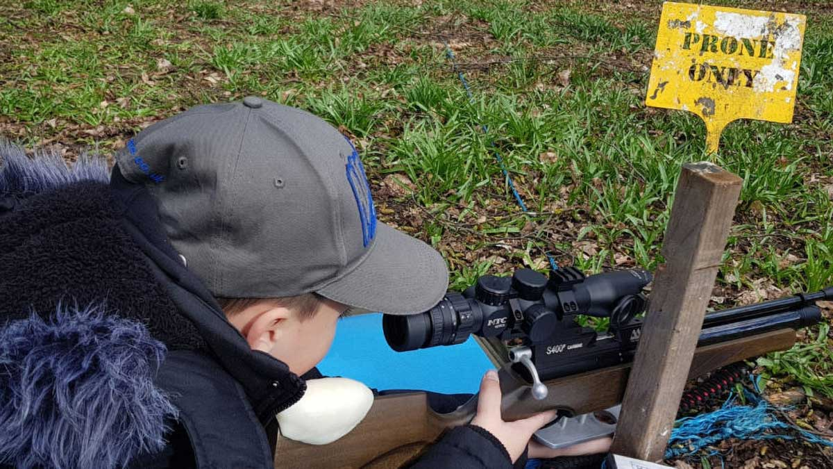 Air Rifle Shooting with my Son – John Mode
