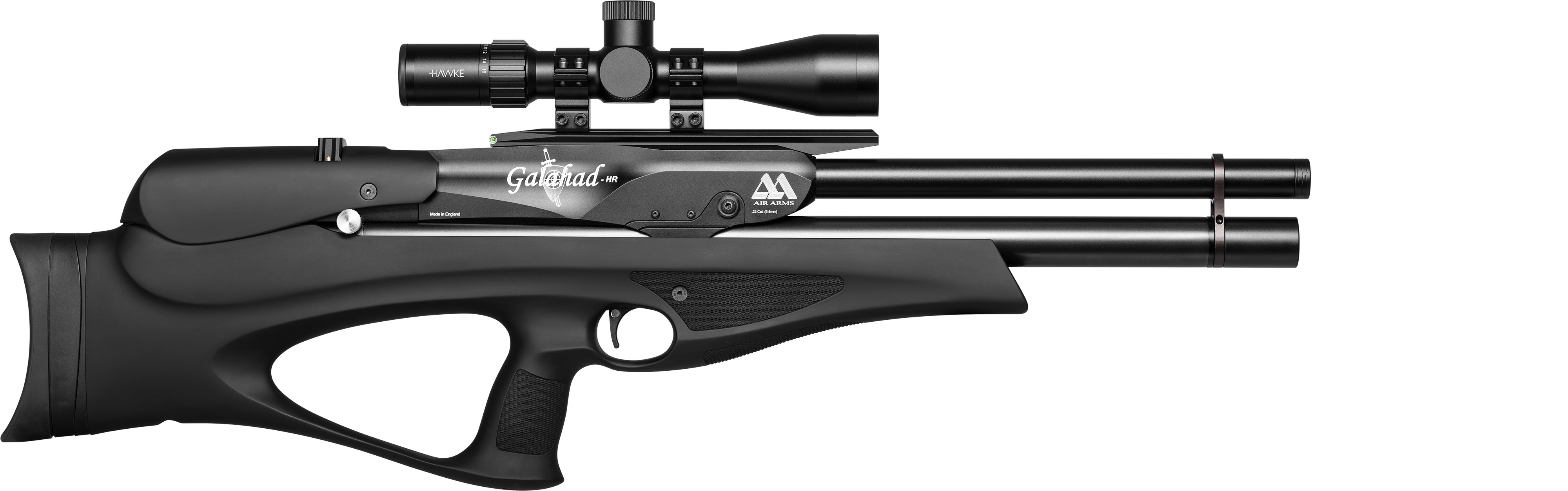 Galahad HP Rifle Soft-Touch Black