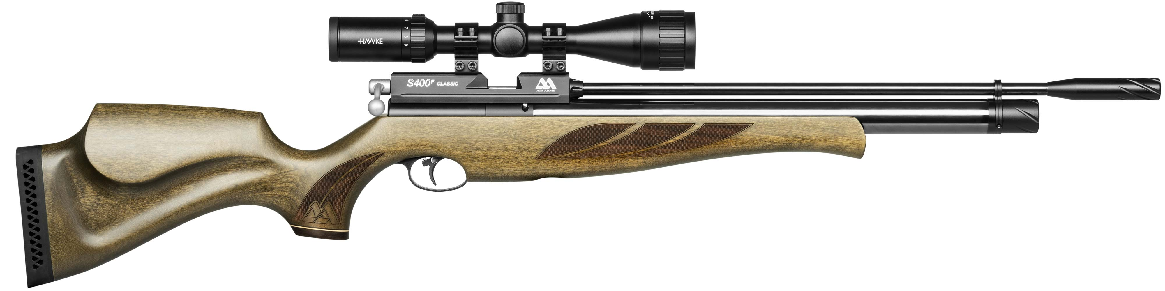 S400 Rifle Superlite Hunter Green