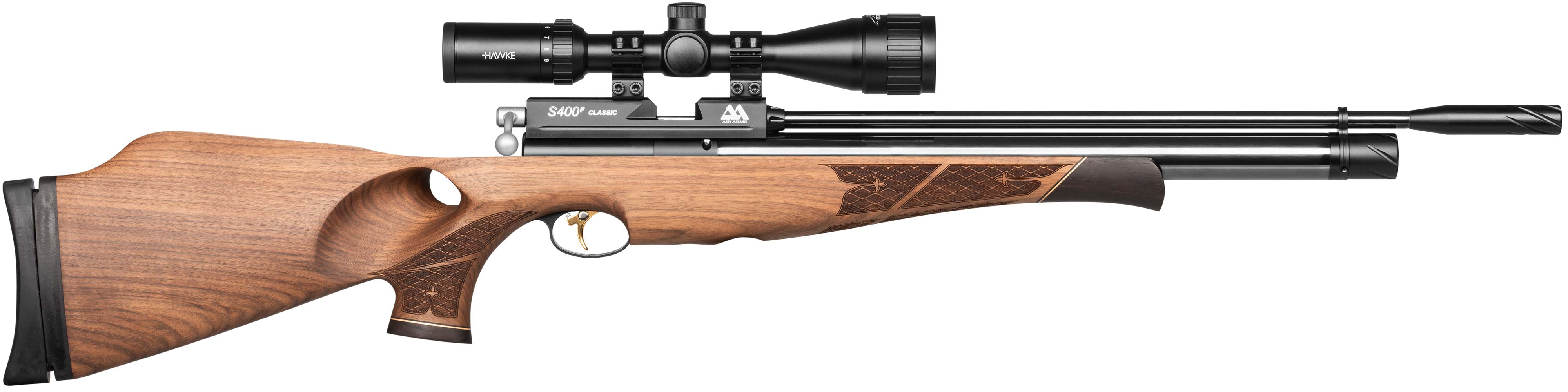 S400 Rifle Walnut Thumbhole